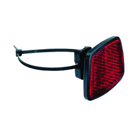Busch + Müller Reflector Bike Reflector red/black